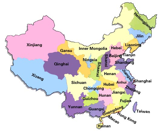 map of china with cities and provinces. China+map+with+cities+and+provinces